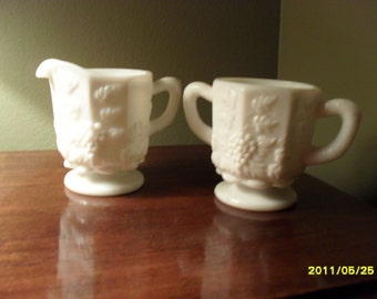 Westmoreland Milk Glass Set