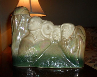Decanter Collectible Mt Rushmore by J W Dant