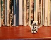 Math Robot (Tiny Handmade RoBit with percent sign)