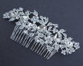 Large Rhinestone Bridal Comb,crystal wedding comb,bridal hair comb rhinestone,wedding hair comb,bridal accessories,wedding headpieces