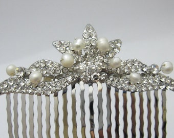 Bridesmaid hair comb Bridesmaid gift wedding hair comb 1920's bridal hair accessories wedding comb bridal jewelry wedding headpiece bridal