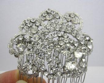 wedding headpiece bridal hair comb 1920's wedding hair jewelry bridal hair accessories wedding jewelry bridal hair comb wedding comb