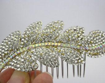 wedding hair accessories bridal hair comb 1920's wedding headpiece bridal hair jewelry wedding hair comb bridal jewelry wedding comb