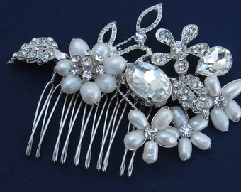 1920's bridal accessories wedding hair comb bridal hair jewelry wedding headpiece bridal hair accessories wedding hair jewelry bridal comb