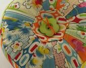 Circular Patchwork Pin Cushion