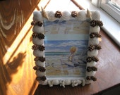Shell/Pinecone frame