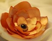 LILY- feminine hair clip flower