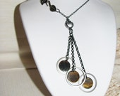 Tigers Eye Necklace, One Of A Kind Necklace