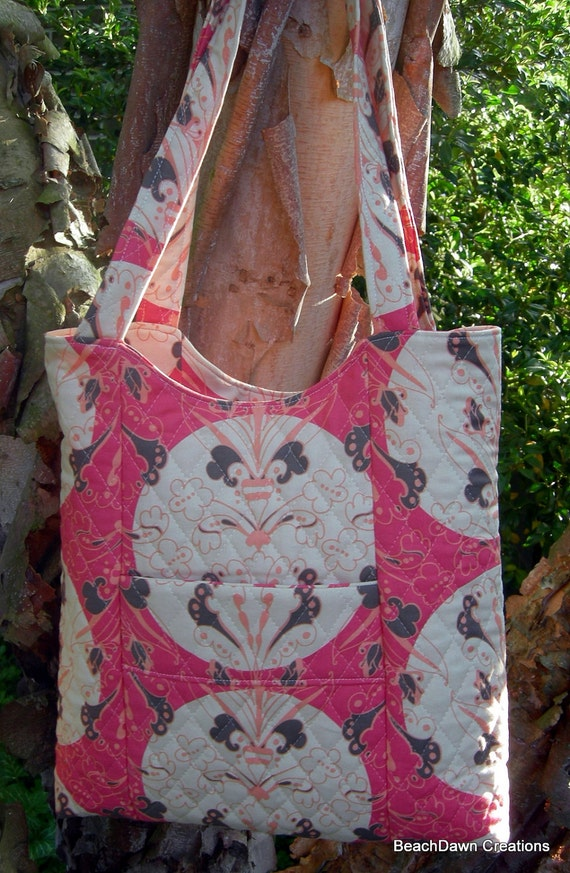 Full Moon Organizer Tote With Matching Pocket Tissue Holder