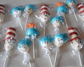 12 The Cat In The Hat, Thing One, Thing Two, And The Fish Chocolate Lollipops