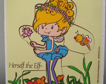 Vintage Herself The Elf Frame Tray Puzzle