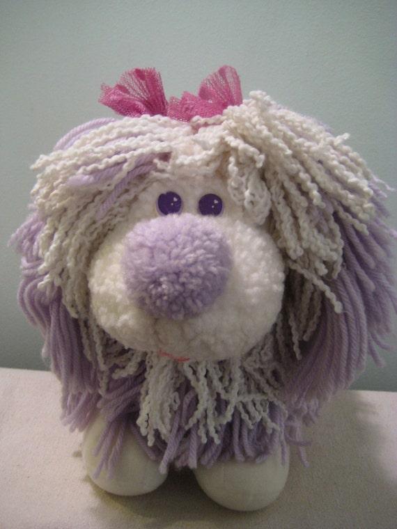 Vintage Fluppy Dog Cuddle Flup