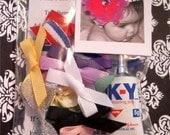 Little Newborn Baby hair bows... glue included