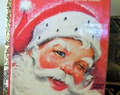 vintage Little Golden Book Christmas Santa's Surprise Book by Joan Potter Elwart