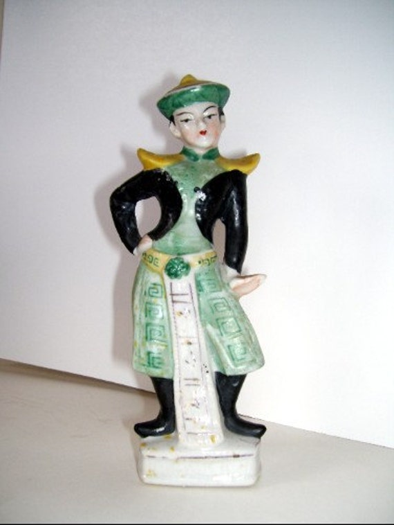Occupied Japan dancer figurine