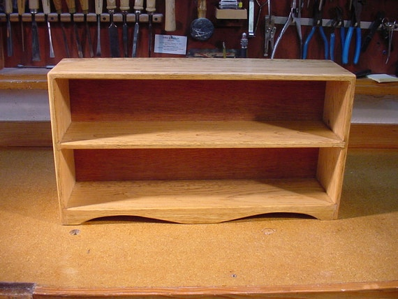 CD holder, storage rack, shelving unit. - Solid Pine - golden stain. Made in USA