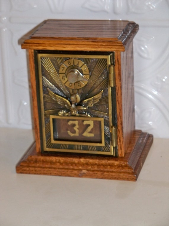 Money Vault Up Cycled Antique 1906 Eagle By By