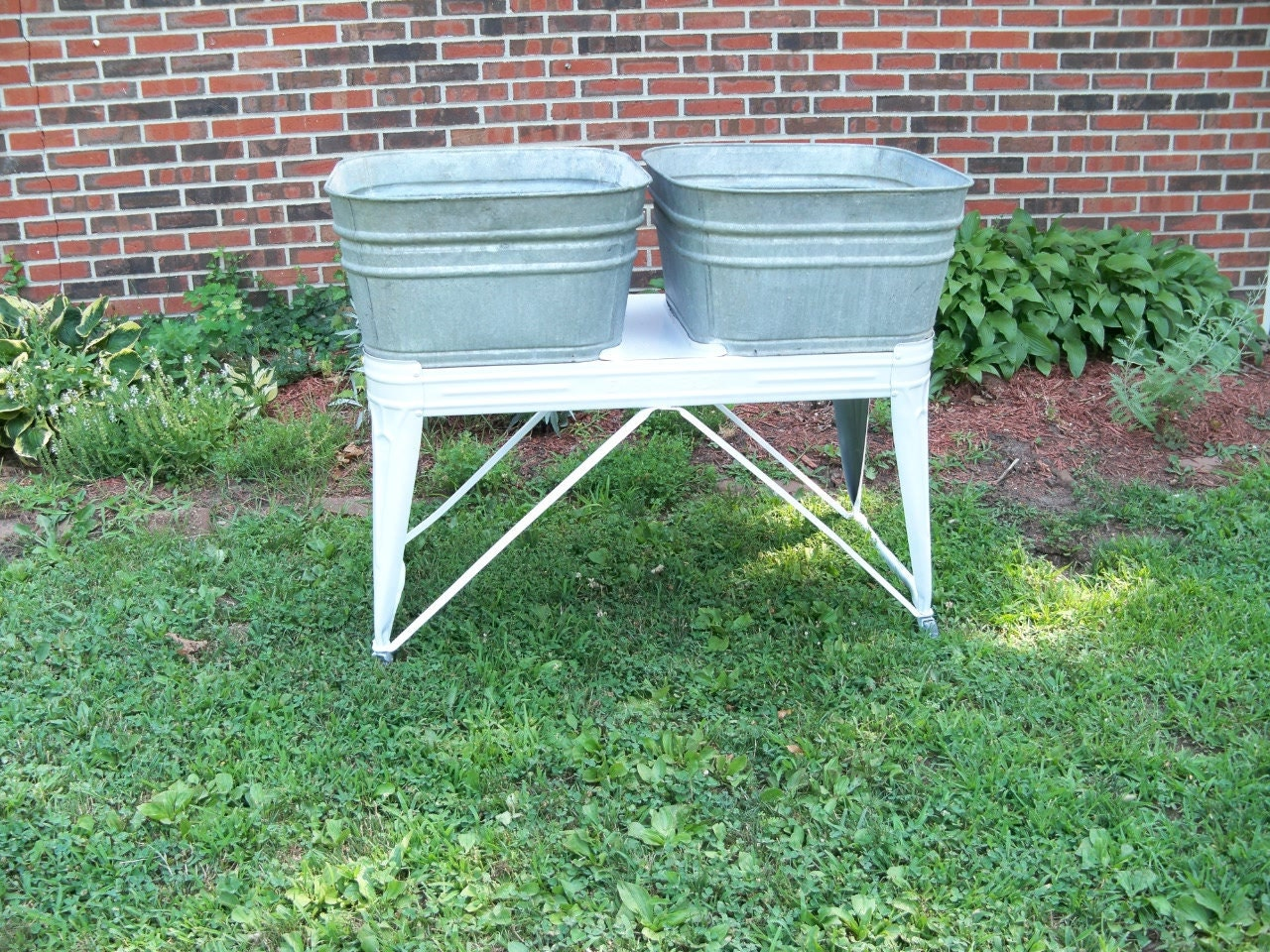 Double Wash Tub : Double Wash Tub by EVER READY an Old Vintage by MrsRekamepip