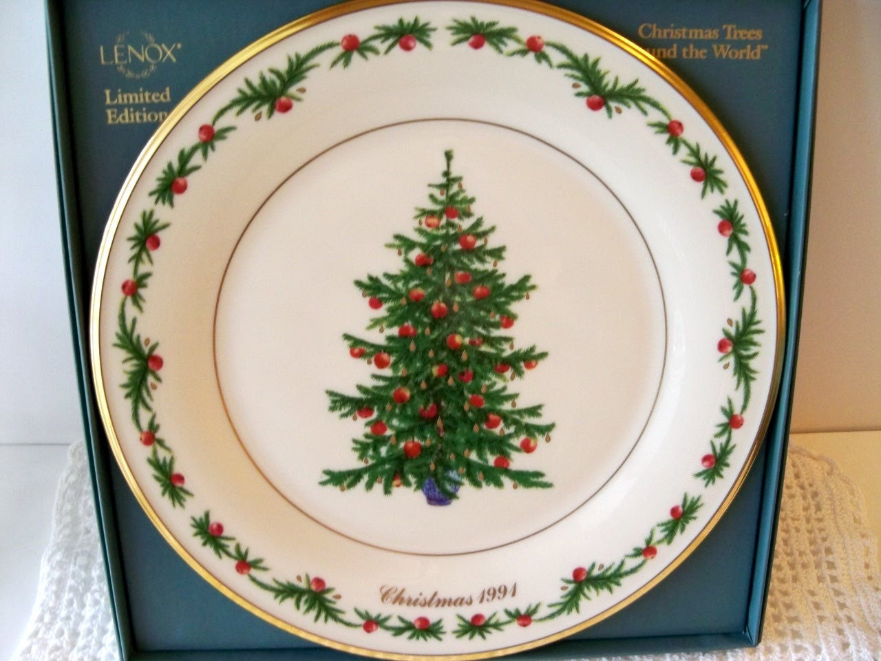 Lenox Annual Christmas Collector Plate 1st Issue by ...