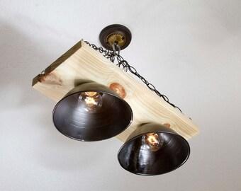 Wood Shop Chandelier Ceiling Lamp