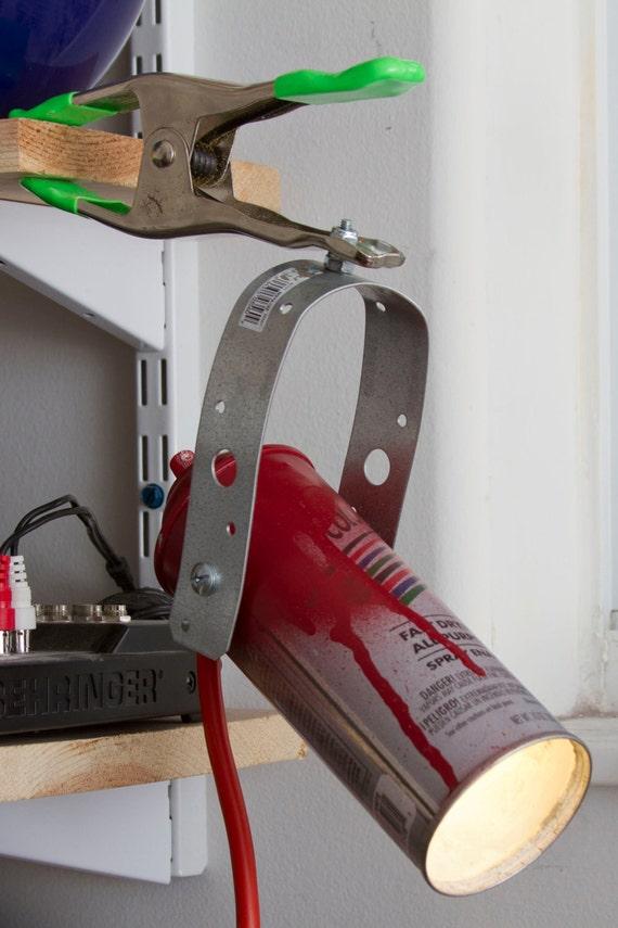 Spray Paint Clamp Lamp