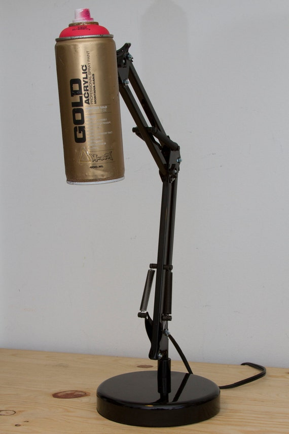 Adjustable Spray Paint Swivel Arm Architect  Lamp