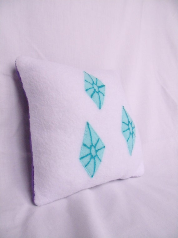 My Little Pony Rarity Cutie Mark Pillow