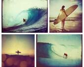 Surf set of 5x7 prints