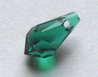 Swarovski Emerald Teardrop