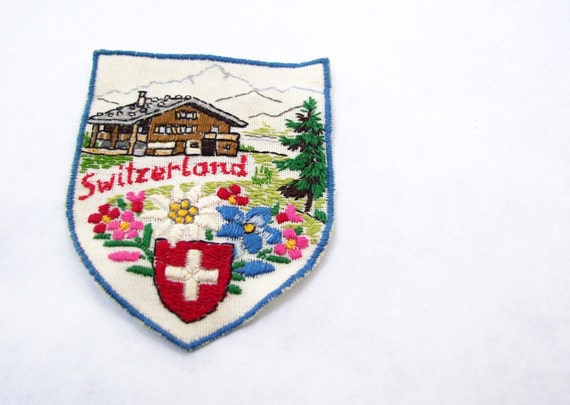 RESERVED for CrownO Vintage Switzerland Patch