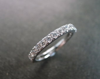 Wedding Diamond Ring in Platinum