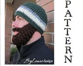 SALE!!!  PATTERN--Ultimate Bearded Beanie