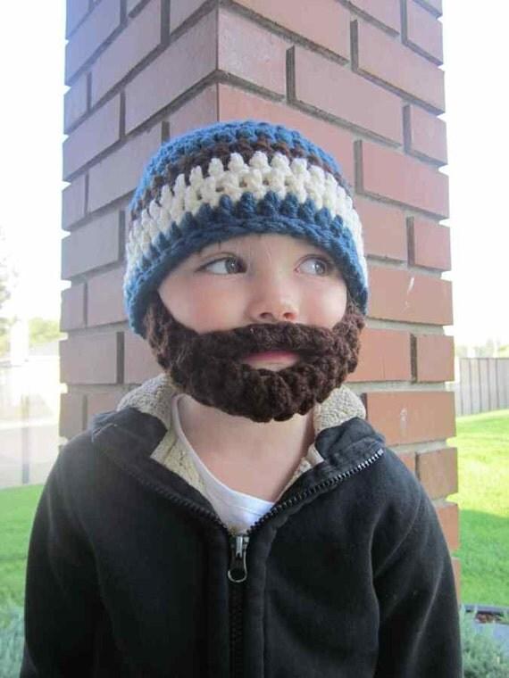 20% OFF Kids ULTIMATE Bearded Beanie Windsor Blue Mix