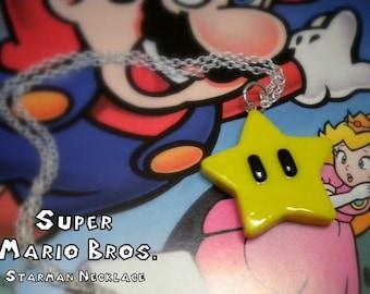 Starman Necklace - Super Mario Bros - Nintendo