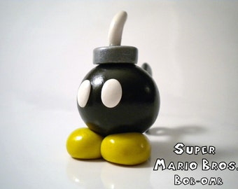 Bob-omb Polymer Clay Desk Buddy - Super Mario Bros - Nintendo