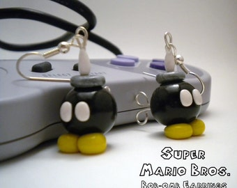 Bob-omb Earrings - Super Mario Bros - Nintendo