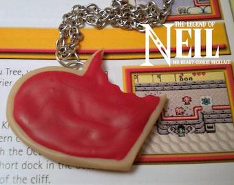Magic Delicious Heart Cookie Necklace - Legend of Neil - Zelda