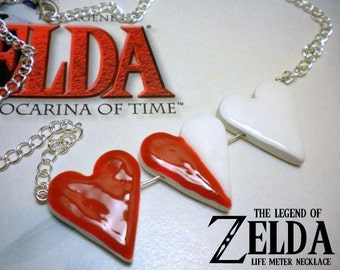 Legend of Zelda Life Meter - Heart/Health Meter - Nintendo