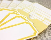 Lemon Tart Library Cards and Labels