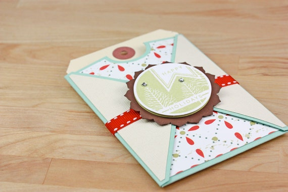 Christmas Gift Card Holder - Happy Holidays