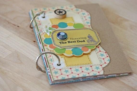 Honoring the Best Dad - Handmade Mini Album