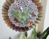 Butterfly Rosette Customized Centerpiece or Cake Decoration