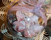Personalized Origami Wedding Ornament Ball