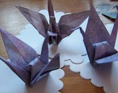 Origami Paper Cranes For Your Wedding Mixed Sizes Includes 10