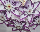 Cupcake or Cake Toppers 10 Included Kusudama Style