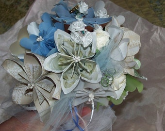 Origami Wedding Package Four Customized Bouquets Included