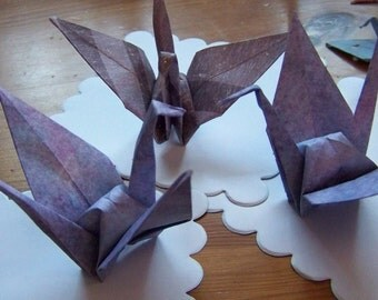 15 Origami Paper Cranes For Your Wedding Or Celebration