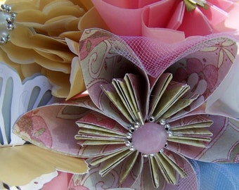 Small Origami Wedding Bouquet