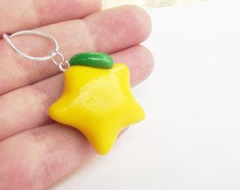 Kingdom Hearts Paopu Fruit Necklace