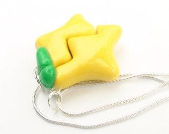 Kingdom Hearts Paopu Friendship Necklace